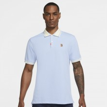 Polo Nike Heritage Slim Bleu