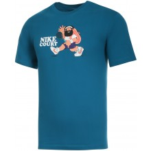 Tee-Shirt Nike Off Court Melbourne Bleu