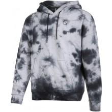 Sweat Nike Court Heritage Dye Blanc