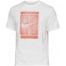 Tee-Shirt Nike Court SSNL Blanc