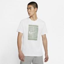 Tee-Shirt Nike Court Londres Blanc