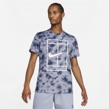 Tee-Shirt Nike Court Heritage Dye Indigo