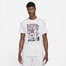 Tee-Shirt Nike Court Paris Blanc