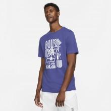 Tee-Shirt Nike Court Paris Bleu