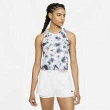 Débardeur Nike Court Femme Heritage Dye Blanc