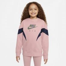 Sweat Nike Junior Fille Sportswear Fleece Rose
