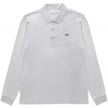 Polo Lacoste Lifestyle Manches Longues Gris