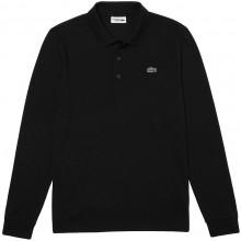 Polo Lacoste Lifestyle Manches Longues Noir