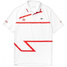 Polo Lacoste Novak Djokovic Paris Blanc
