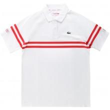 Polo Lacoste Djokovic Blanc
