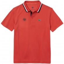 Polo Lacoste Junior RG Ball Kid Orange
