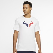 Tee-Shirt Nike Court Logo Nadal Dri-Fit Blanc
