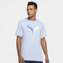 Tee-Shirt Nike Court Logo Nadal Dri-Fit Bleu