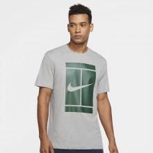 Tee-Shirt Nike Court Essential Gris