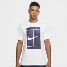 Tee-Shirt Nike Court Essential Blanc