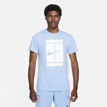 Tee-Shirt Nike Court Essential Bleu