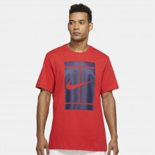Tee-Shirt Nike Court Essential Rouge
