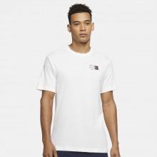 Tee-Shirt Nike Court NYC Postcard Blanc