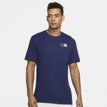 Tee-Shirt Nike Court NYC Postcard Marine