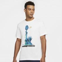 Tee-Shirt Nike Court Dri-Fit NYC Liberty Blanc