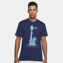 Tee-Shirt Nike Court Dri-Fit NYC Liberty Marine