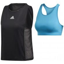 Tee-Shirt Adidas Femme Escouade Noir