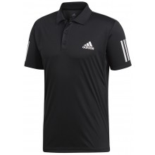 Polo Adidas Club 3 Stripes Noir