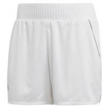 Short Adidas Femme Club Taille Haute Blanc