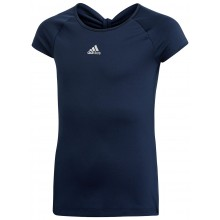 Tee-Shirt Adidas Junior Fille Ribbon Marine