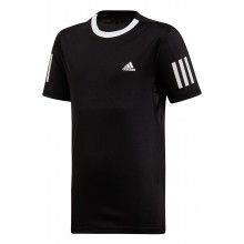 Tee-Shirt Adidas Junior Club 3 Stripes Noir