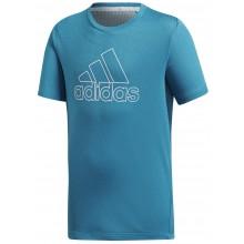 Tee-Shirt Adidas Training Junior Chill Bleu