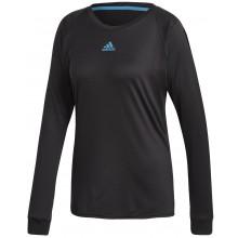 Tee-Shirt Adidas Femme Escouade Manches Longues Noir