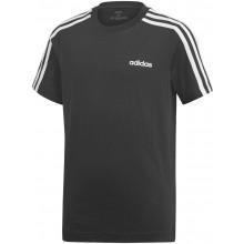 Tee-Shirt Adidas Training Junior Essentials 3S Noir