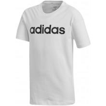 Tee-Shirt adidas Junior Garçon Lin Blanc