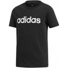 Tee-Shirt Adidas Junior Garçon Lin Noir