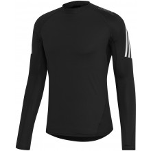 Tee-Shirt Manches Longues Adidas Performance 3S Noir