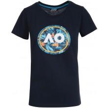 Tee-Shirt Australian Open 2021 Femme Playful Floral Marine