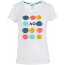 Tee-Shirt Australian Open 2021 Femme Playful Circle Blanc