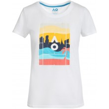 Tee-Shirt Australian Open 2021 Femme Court Playful Blanc