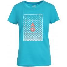 Tee-Shirt Australian Open 2021 Femme Tennis Court Bleu