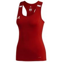 Débardeur Adidas Femme T19 Rouge