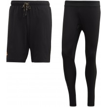 Short Collant Adidas 2 en 1 Noir