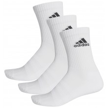 Chaussettes Adidas Cushion Crew 3 Paires Blanches
