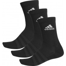 Chaussettes Adidas Cushion Crew 3 Paires Noires