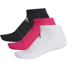 3 Paires de Chaussettes Adidas Cush Magenta