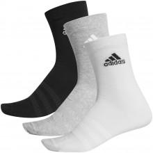 Pack de 3 Paires de Chaussettes Adidas Light Crew