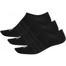 3 Paires de Chaussettes adidas Light Invisibles Noires