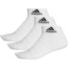 3 Paires De Chaussettes Adidas Light Blanches