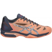 Chaussures Asics Femme Gel Lima Padel Terre Battue Oranges