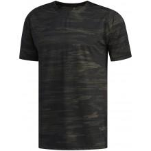 Tee-shirt Adidas Camo Manches Courtes Noir